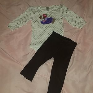 Infant girls gymboree outfit